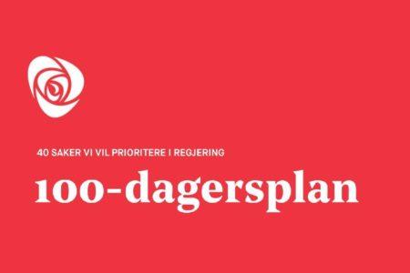 Arbeiderpartiets 100-dagersplan for en ny regjering